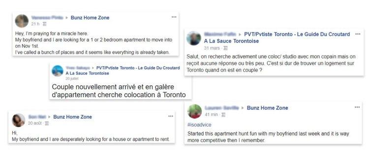 Recherche appartement Toronto