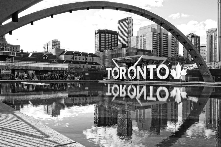 Toronto Sign Nathan Phillips Square