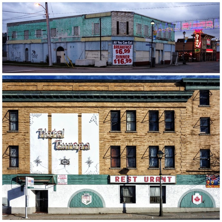 Niagara Falls Canada Ghost Town