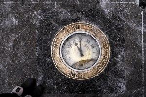 Barthman Sidewalk Clock New York City