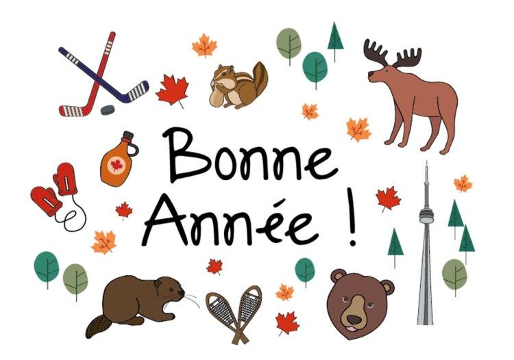 BONNE ANNEE CANADA