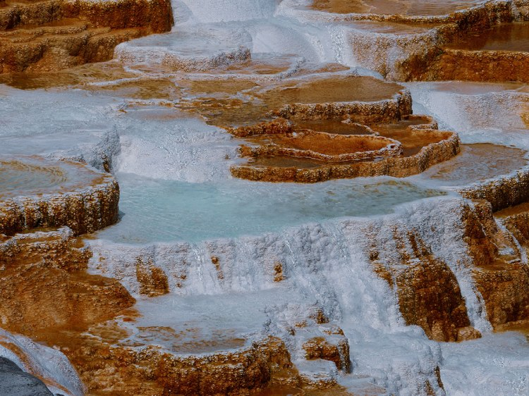 Mammoth Hot Springs Yellowstone