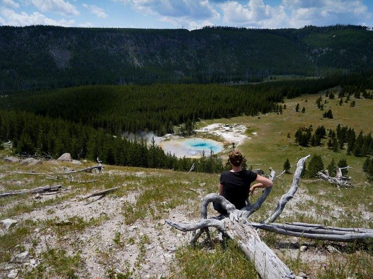 Fairy Falls Hike Yellowstone