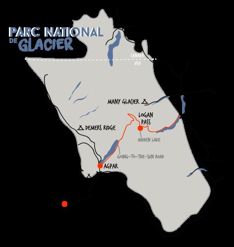 parc national glacier carte whereiscoralie