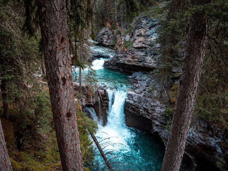 Canyon Johnston Banff National Park Ink Pots