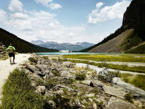 Randonnée Lake Louise Banff National Park